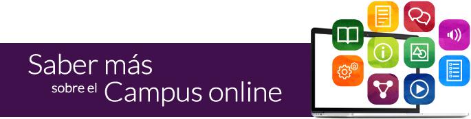 Saber más sobre el Campus online